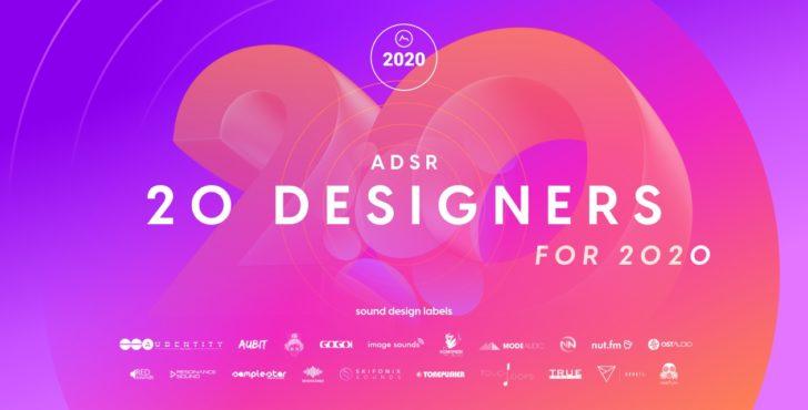 【無料】20のレーベルから厳選したループ、ワンショット、MIDIファイルを収録したサンプルパック「20 Designers for 2020」が無償配布中