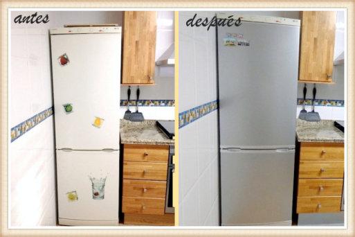 C mo forrar los muebles de la cocina con vinilo lhh - Como forrar muebles de cocina ...