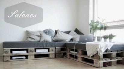 sofá palés
