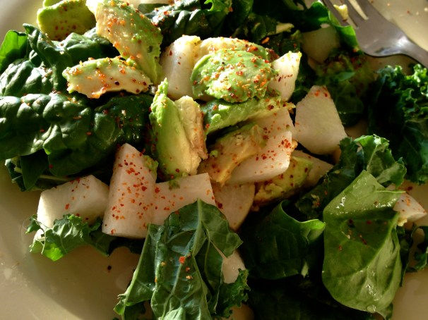 Jicama and Fresh Basil Salad