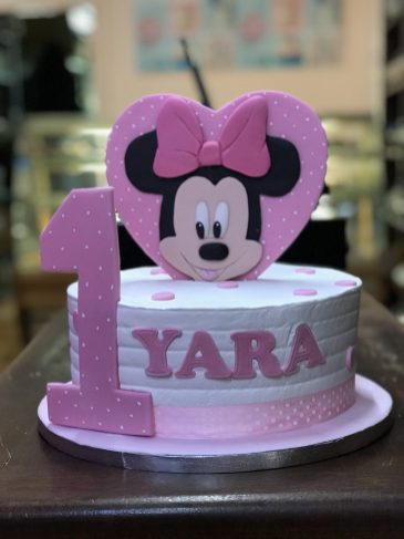 Tarta Minnie Mousse