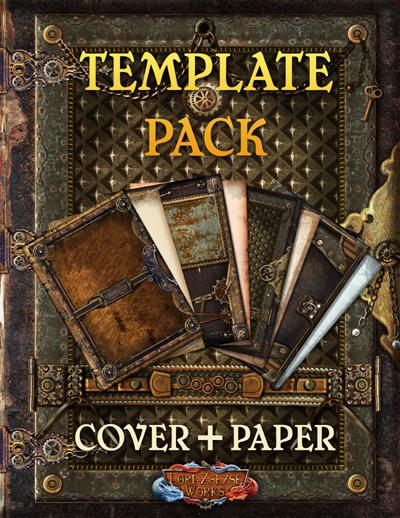 Steampunk Template Set