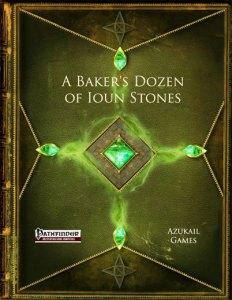 A Baker's Dozen of Ioun Stones (PFRPG)