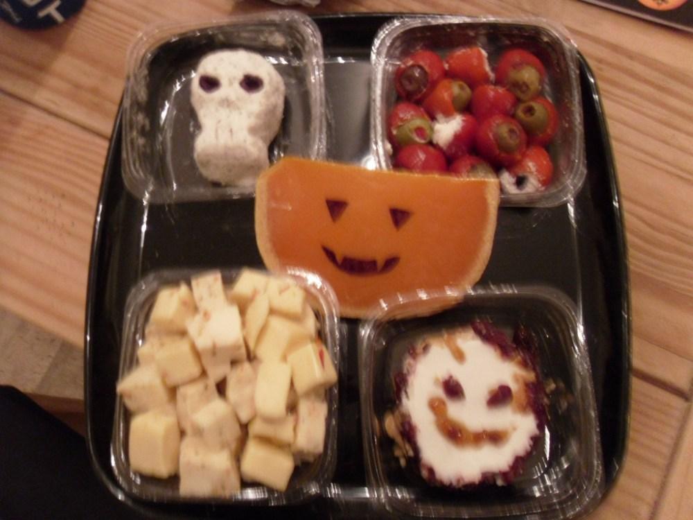 My Halloween Cheese Platter