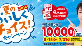 【終了】2018/8/7山崎製パン 2018 夏のおいしくチョイス!キャンペーン