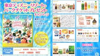 【終了】2018/8/3ライフコーポレーション 東京ディズニーランド・東京ディズニーシーのオフィシャルスポンサー7社が贈る!東京ディズニーリゾートパークチケットプレゼントキャンペーン