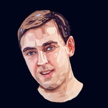 Digital Portrait Drawing nr1