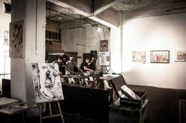 Exhibition Photo from Urban Art Clash Gallery Mitte : YAAM Berlin IV