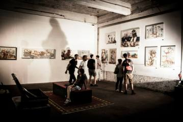 Exhibition Photo from Urban Art Clash Gallery Mitte : YAAM Berlin V
