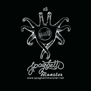 Alternative logo for Spaghetti Monster Recordings // Moscow
