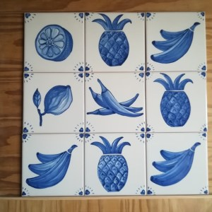 """Crédence """"Fruta e Sabores"""""""