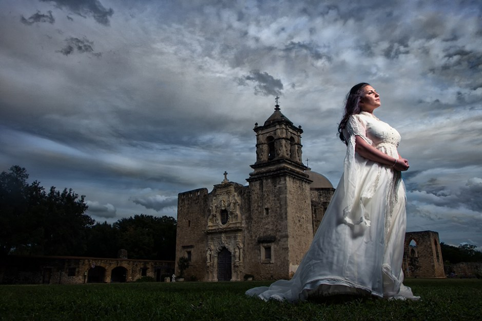 Sarah: Bridal Portraits at Mission San Jose