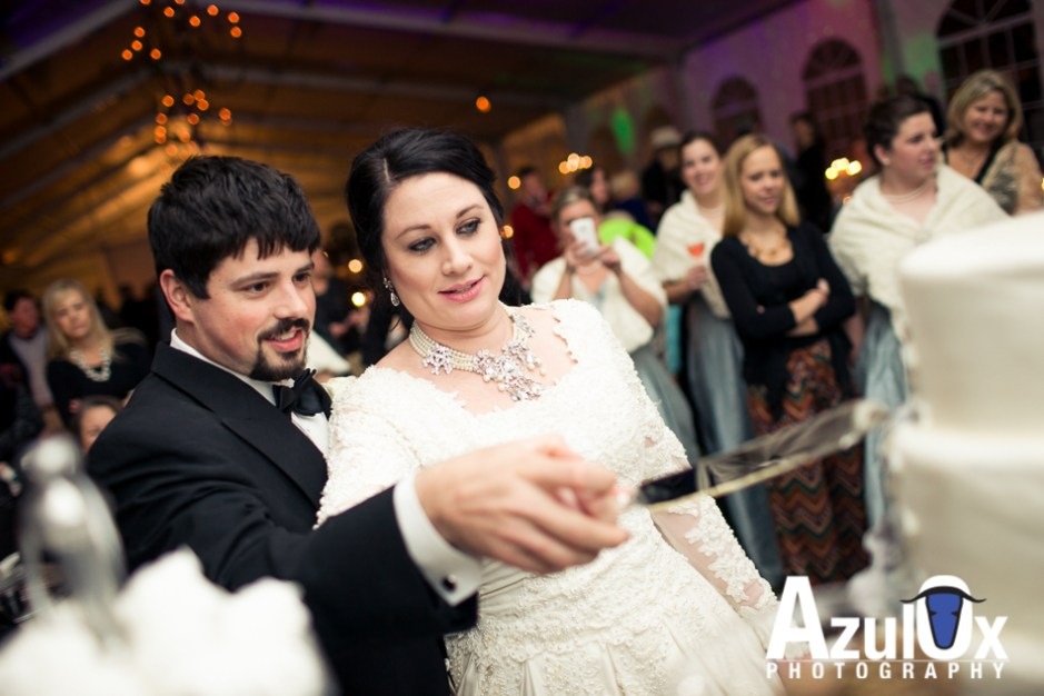 Heidi & Bryson: Winter Wonderland Wedding in Kingsbury