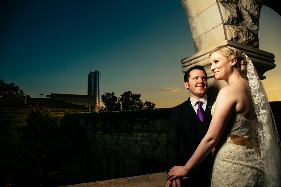 Katie & Nick: Chateau Bellvue Wedding in Austin