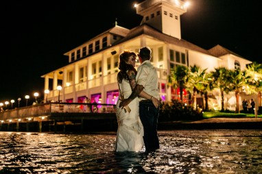 Stephanie & Jason: Mansion by the Sea Wedding in Port Aransas - Ocean Front Wedding Portraits - Austin Wedding Photographers