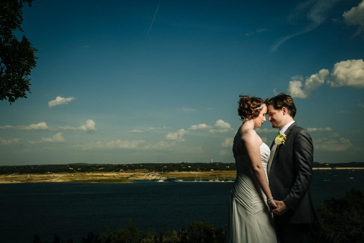 Morgan & Matt: Nature's Point Wedding in Lakeway - Austin Wedding Photographer - Blue Hour Wedding Portraits