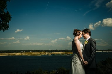 Morgan & Matt: Nature's Point Wedding in Lakeway - Austin Wedding Photographer - Blue Hour Wedding Portraits