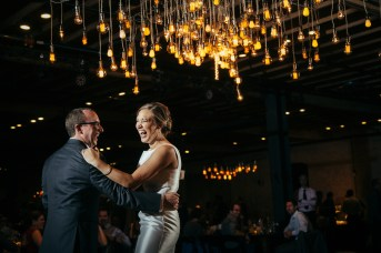 Noah & Vanessa: Austin Wedding - Austin Wedding photographer, First Dance, Brazos Hall