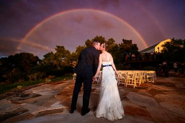 Kevin and Rachael - TerrAdorna venue - Blue hour wedding portraits