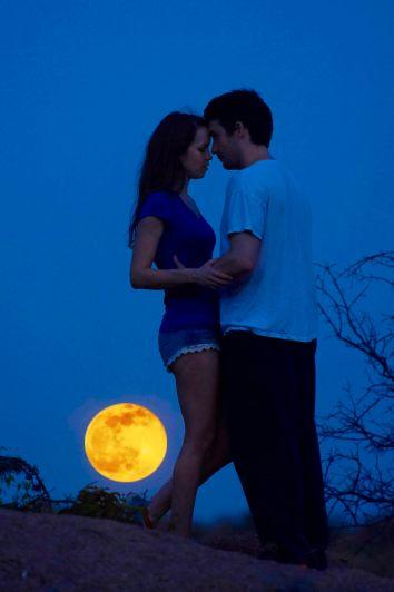 Sarah and Cliff Enchanted Rock Engagement -Blue Hour Engagement Photos - Austin Wedding photographers