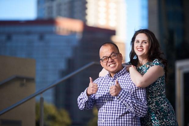Downtown Austin Engagement - Austin Engagement Photography