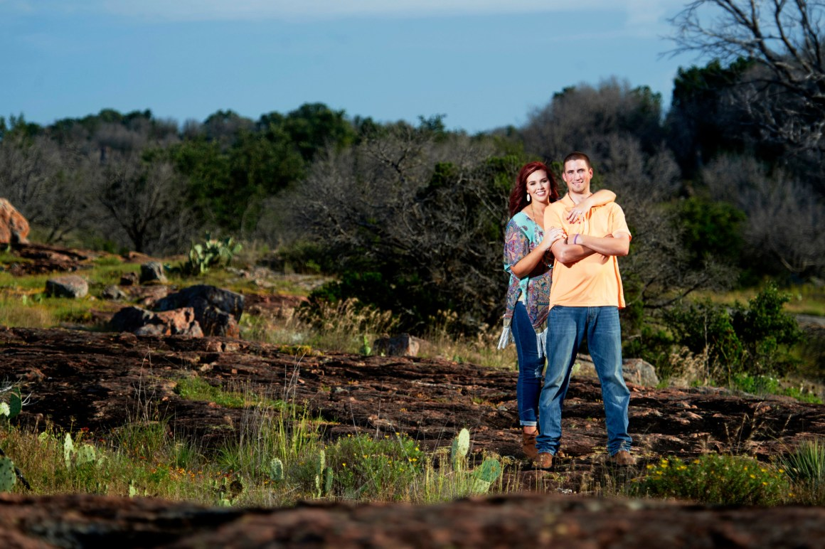 Inks Lake Adventure Engagement - Creative Engagement Photos - Hill Country Engagement Portrait - Austin Adventure Engagement