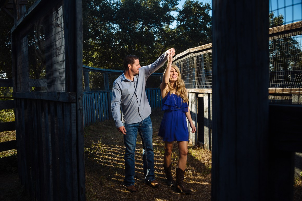 Jacob and Kathleen austin hill country adventure engagement- hill country engagement photos - golden hour engagement photos - austin wedding photographers - nature engagement photos - westridge stables engagement - westridge stables spicewood springs texas -