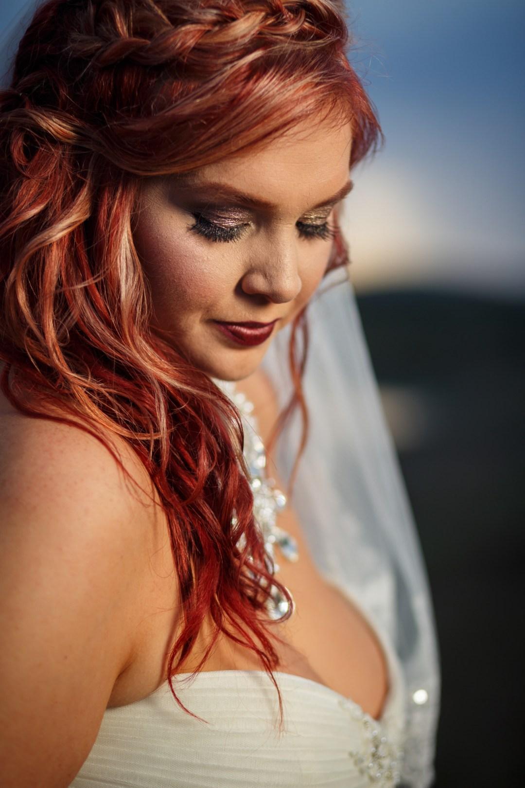 Austin Giraffe Bridal Portrait - Austin Wedding Photographer - Epic Bridal Portraits