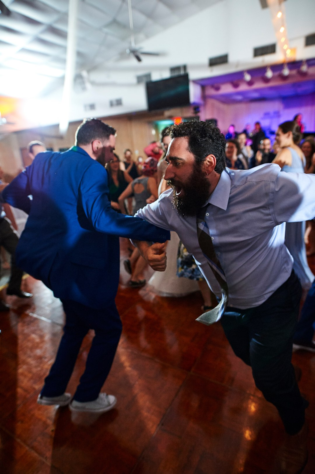 Partying at the Reception - Waco DIY Wedding - Temple Camp Wedding - Hallie and Jonathan - Green Family Camp - Outdoor Wedding