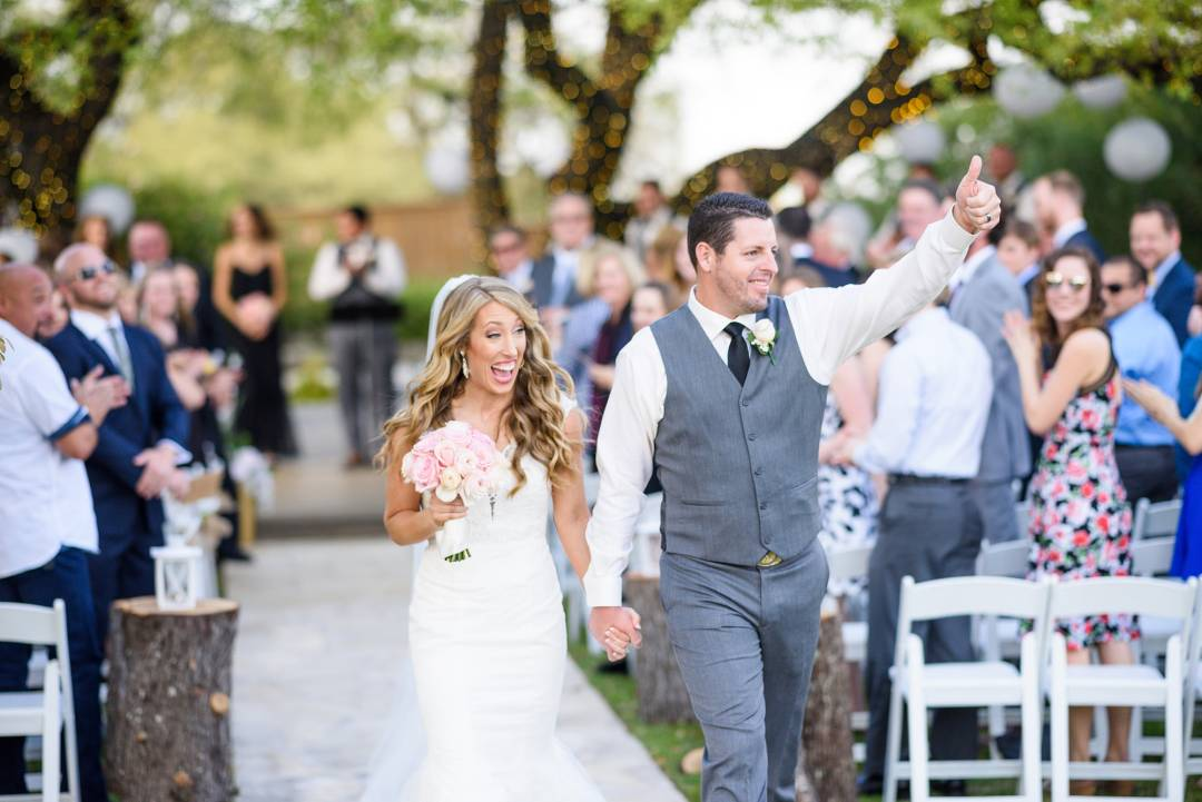 Antebellum Oaks Wedding - Austin Wedding Photographer - Jacob and Katie - hill country wedding, hill country views, newly weds walking down aisle