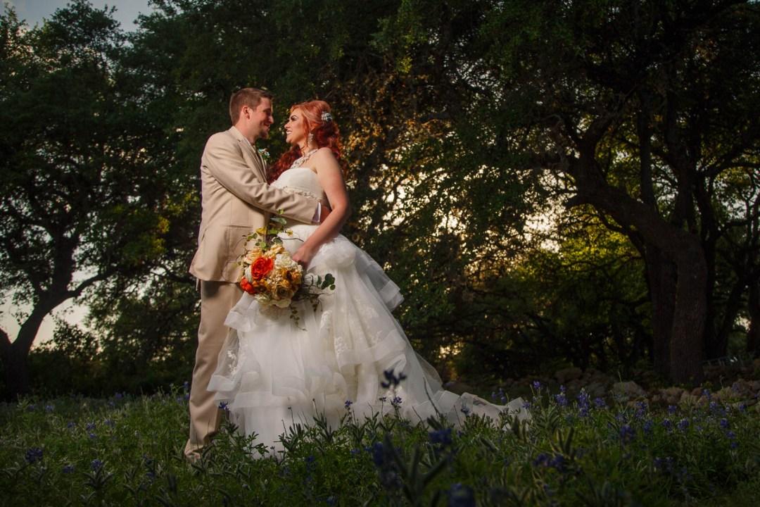 Canyon Lake Wedding - Country Wedding - Classic Car Wedding - New Braunfels Wedding - Wedding Portraits - Sunset Wedding Photos - Shay and Jason -