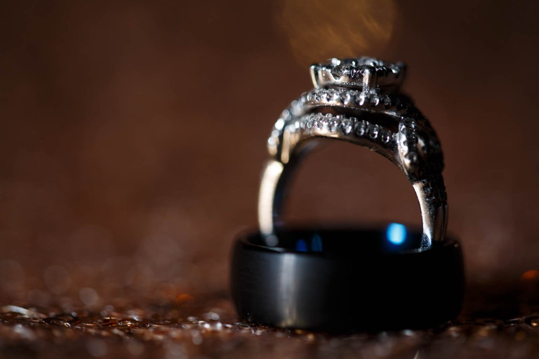 Canyon Lake Wedding - Country Wedding - Classic Car Wedding - New Braunfels Wedding - Wedding Rings - Shay and Jason