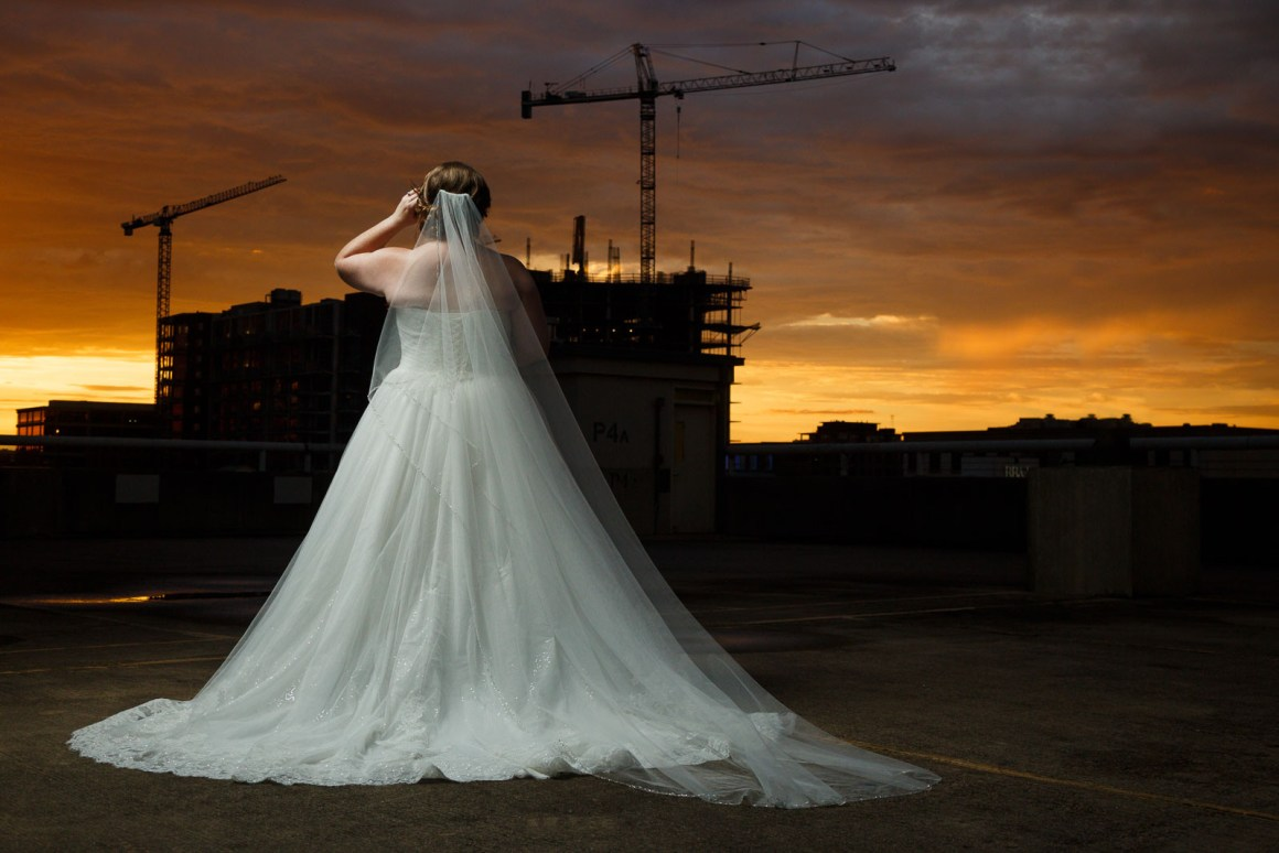 Roxie Bridal Session - Austin skyline photography - Austin Wedding Photographers - Epic Bridal Photos - Golden Hour Bridal Photography