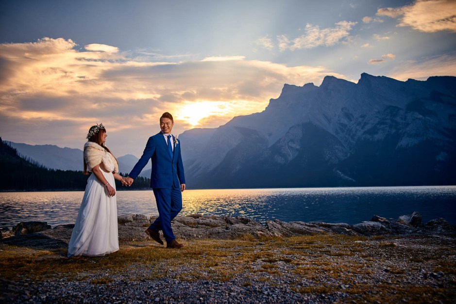 Emily and Jasper's Banff Destination Wedding