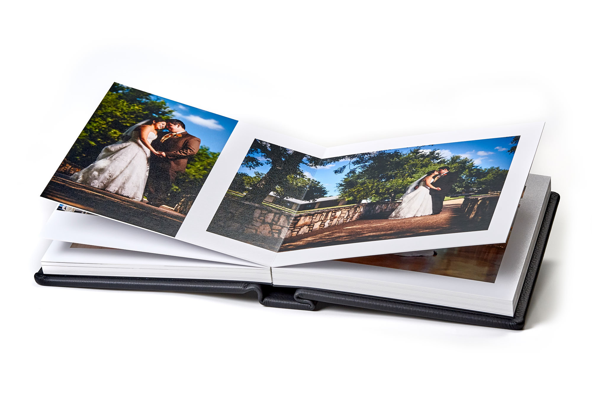 Wedding Album - Leather Bound Flush Mount Photo Album