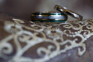Wedding Ring Detail Photo at TerrAdorna