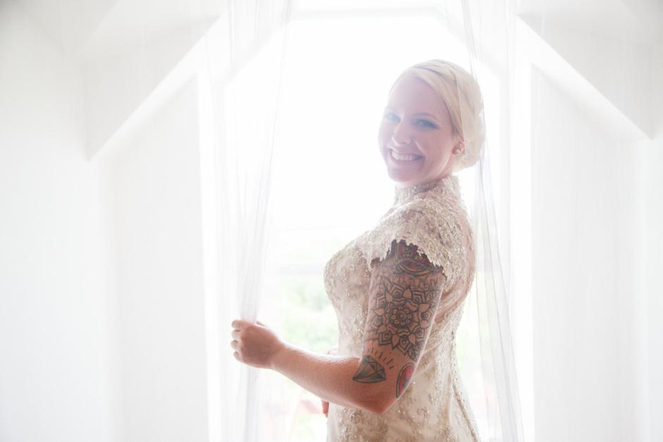Bridal Portrait at TerrAdorna in Manor, Tx