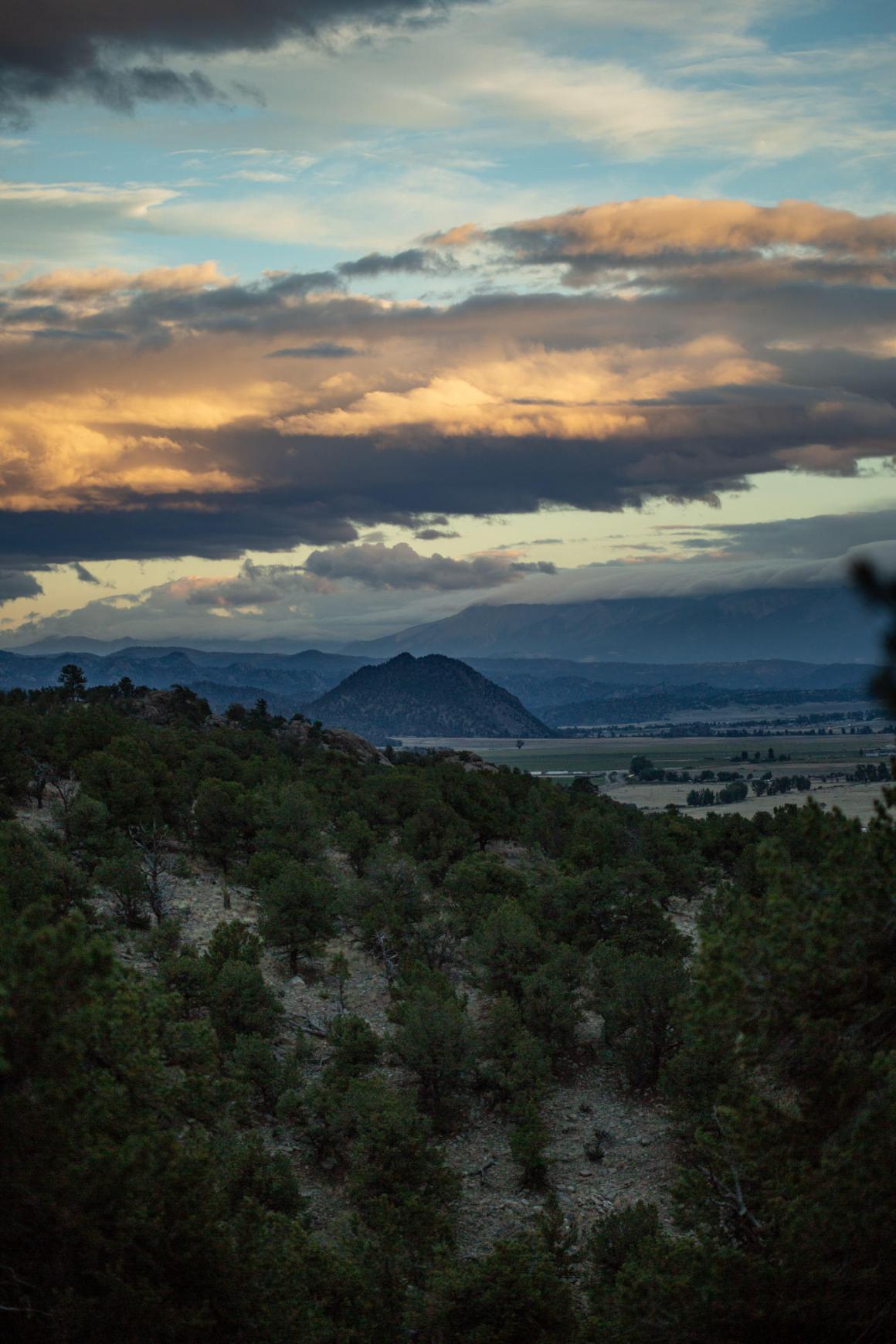 Colorado DIY Wedding view from Camp Endurance