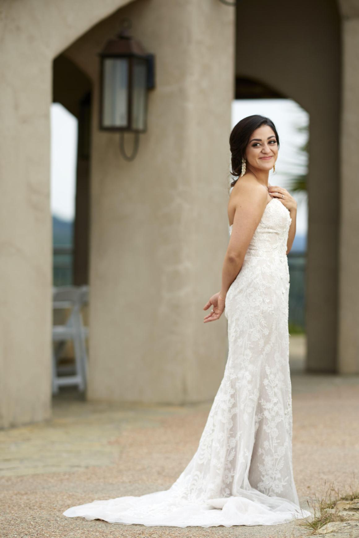 Bride portrait at Chapel Dulcinea