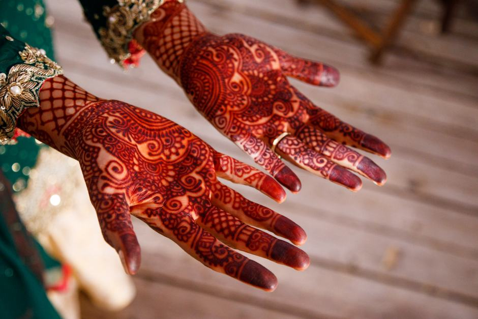 Bride's Henna - Jay and Samira - Heart of Texas Ranch Wedding in Marble Falls Texas - Indian-Christian Fusion Wedding