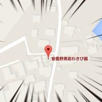【安曇野黒岩わさび園】Google Mapに表示されるようになりました!