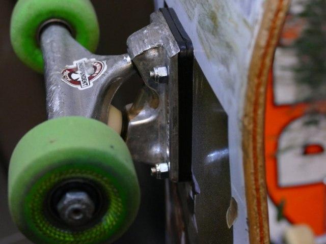 スケートボード,メンテナンス,ビス,スペーサー,代用,DIY,ホームセンター
