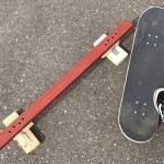 【スケートボード】パイプレールまたまた自作!(4個目)