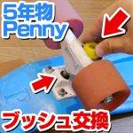 【DIY】5年物のPennyのブッシュを換えてみた【パーツ交換】