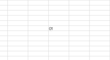エクセル,1,01,01の0を表示,表示させる,0を表示,excel,spreadsheet,スプレッドシート,裏技,豆知識,電話番号