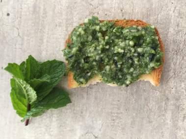 Pesto spiruline ortie et blettes