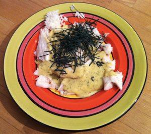Régime alimentaire riz poisson spiruline