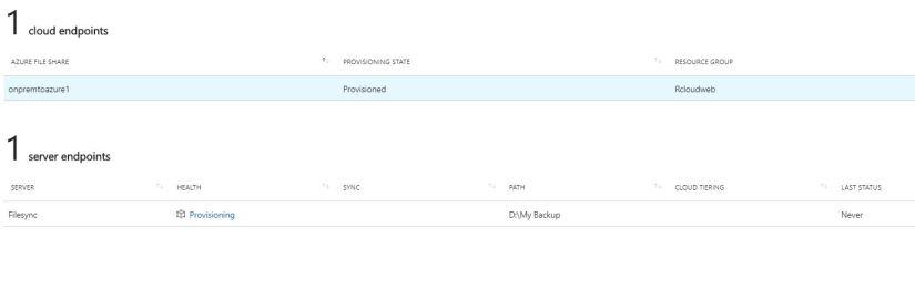 Azure File Sync21