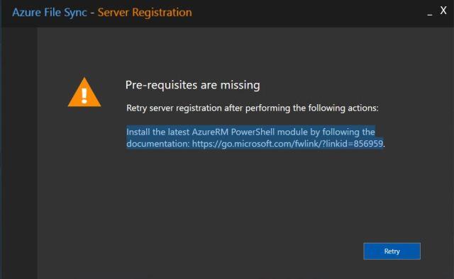 Azure File Sync9