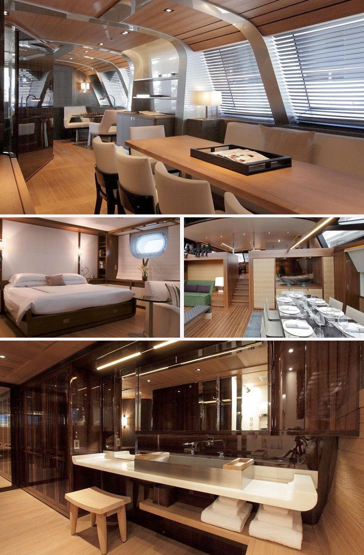 Ms All Del Confort Impresionantes Interiores De Yates